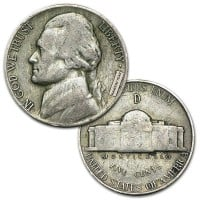 War Nickels - 35% Silver