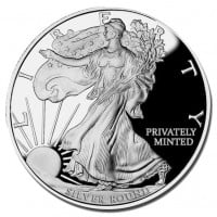 1 Oz Walking Liberty Silver Rounds
