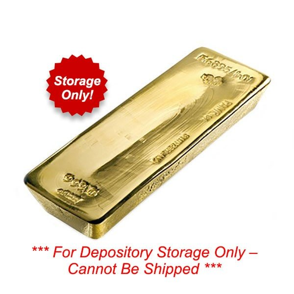 Vault Gold - 1/10 Troy Oz  .9999 Gold, Securely Stored thumbnail