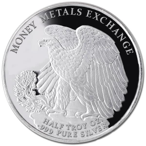 Walking Liberty Half Oz Silver Rounds thumbnail