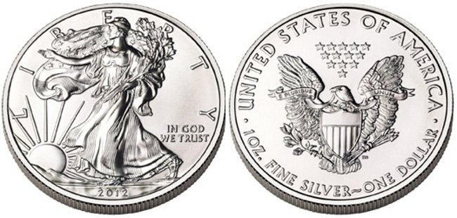 Silver American Eagle Coin - 1oz