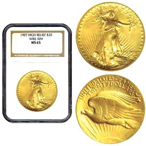 Saint Gaudens Double Eagle Gold Coin
