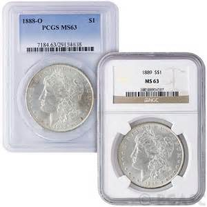 Morgan Silver Dollars Graded