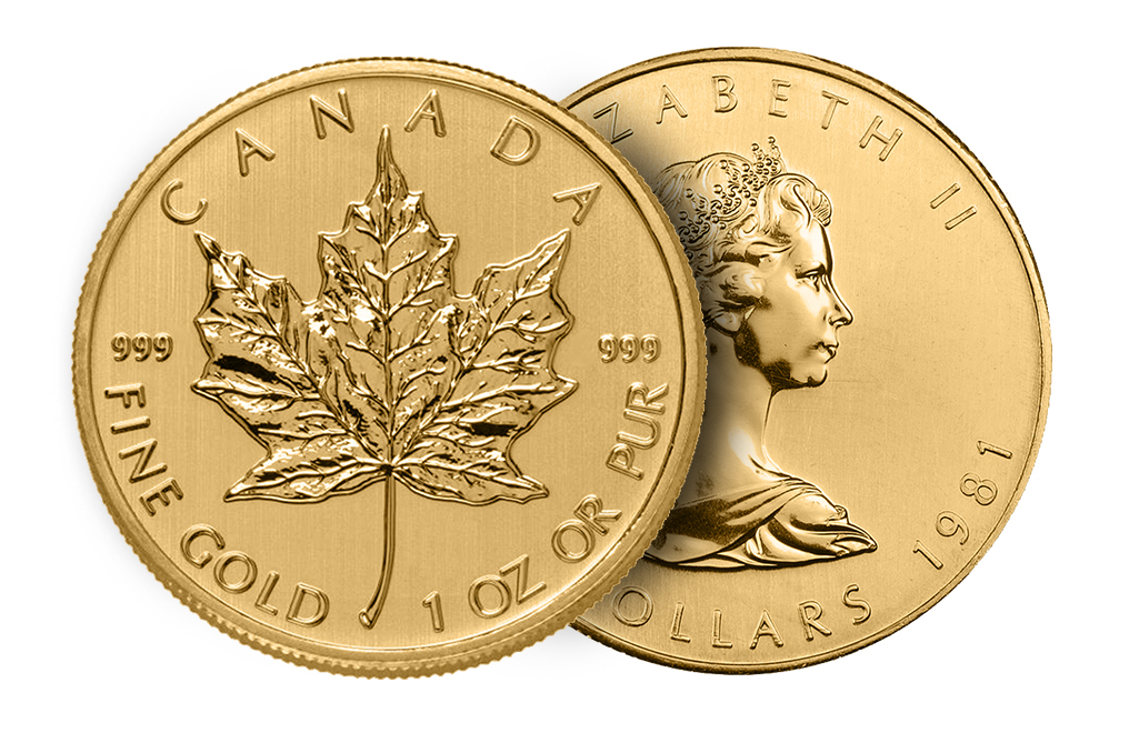 .999 BU 1-oz Gold Maple Leafs