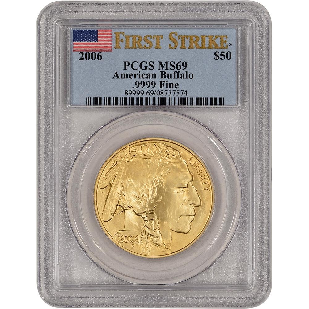 Graded Gold Buffalo Coins