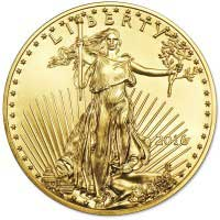 Gold American Eagle (1/10 Oz)