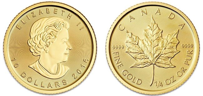Gold American Eagle Coin - 1/4 oz