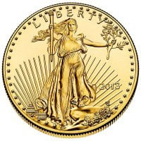 Gold American Eagle (1 Oz)