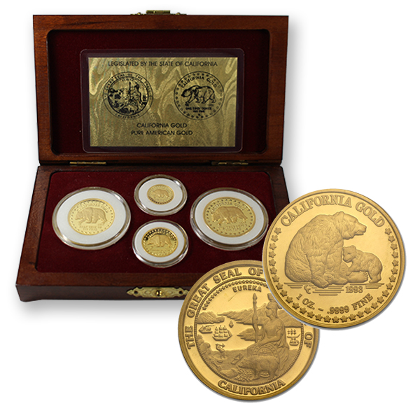 California Gold Rounds!