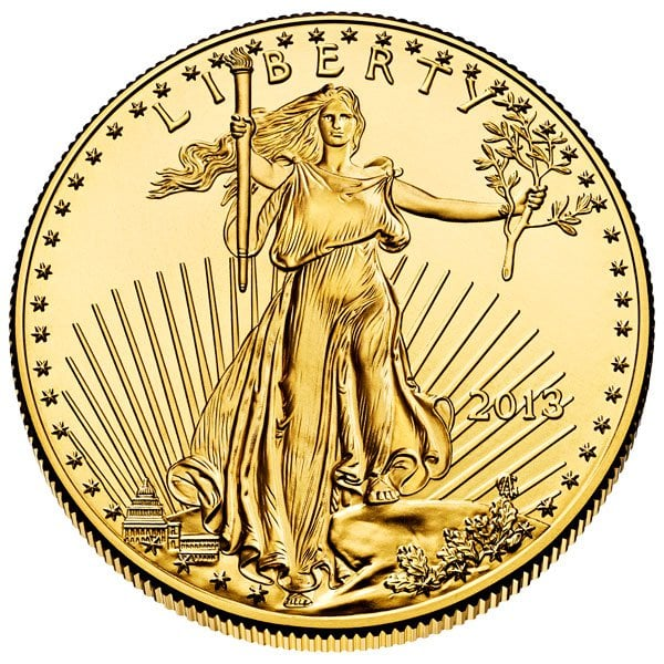 As low as $39.95 over spot on 1-oz Gold Eagles (below $50 on ALL quantities)!