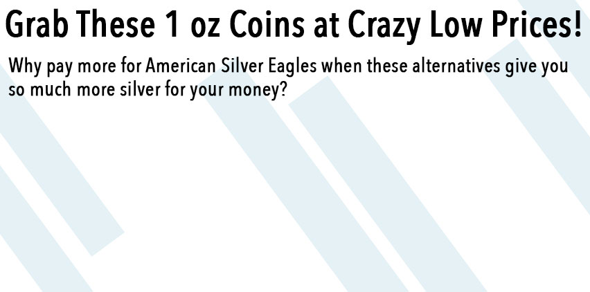 1 oz Coin Sale