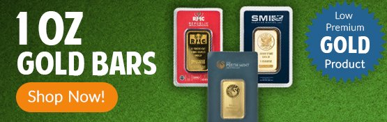 Buy 1 oz Gold Bars from Money Metals Exchange