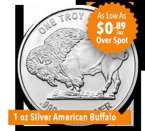 1 oz Silver Buffalo Sale