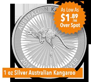 1 oz Silver Kangaroo Coin Sale