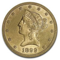 $10 U.S. Liberty Gold Coins