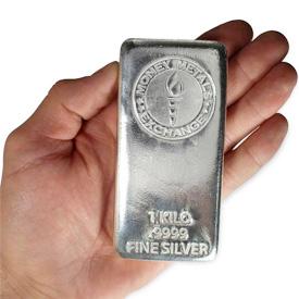 1 Silver Kilo Bar