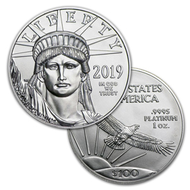 1 Oz American Platinum Eagle
