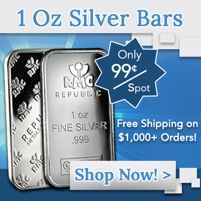 1 Oz Silver Bars Sale