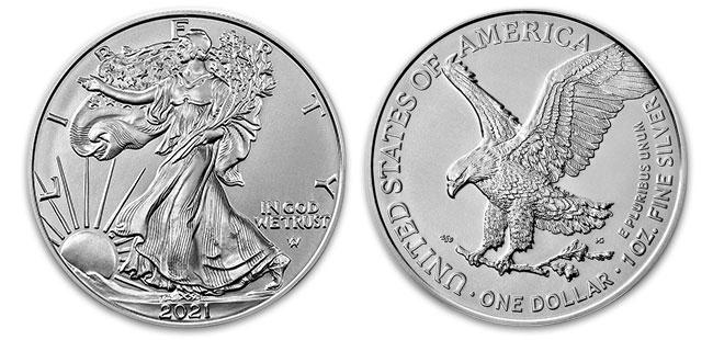 Silver American Eagle Coin - 1 oz