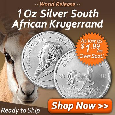 1 Oz Silver Krugerrand Release