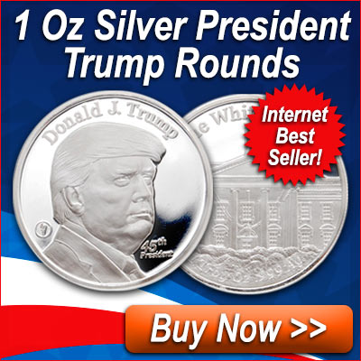 1 Oz Trump Silver Rounds