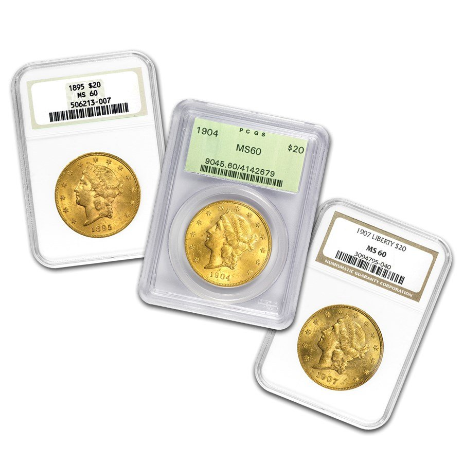 Graded Pre-'33 Gold Coins! NEW ITEMS ADDED!