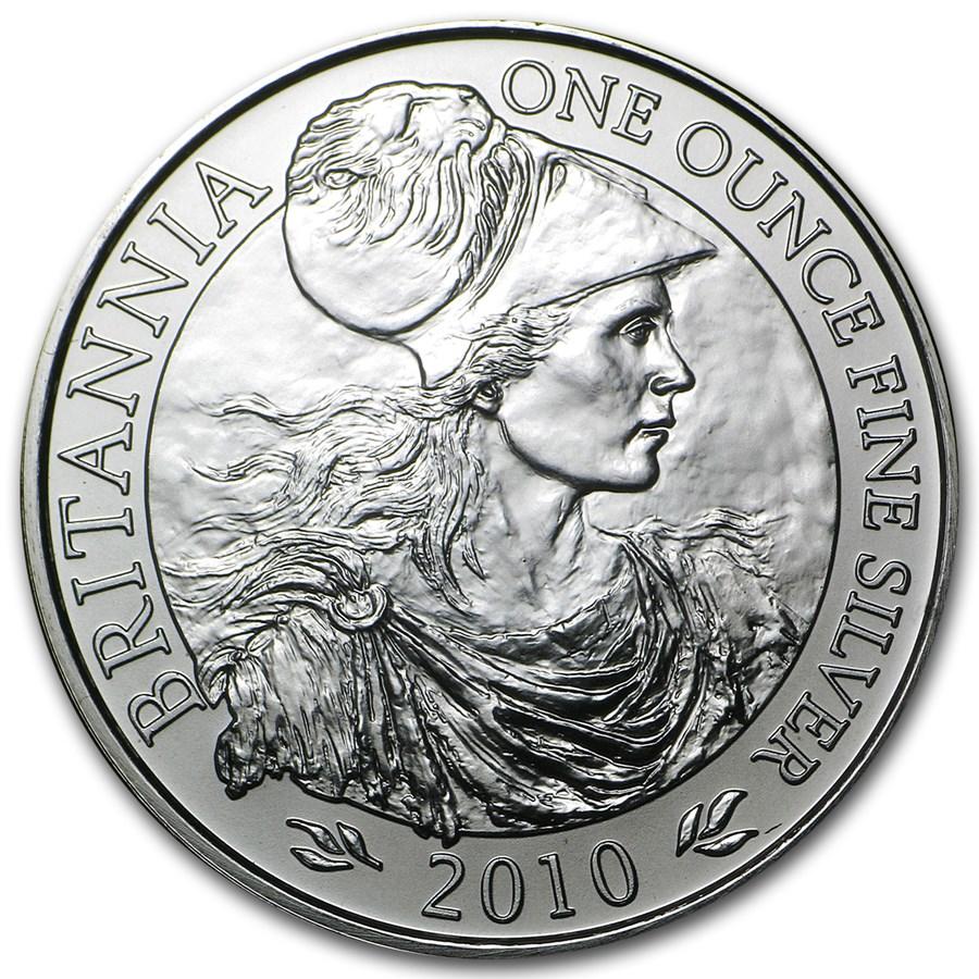 Graded Great Britain - PCGS MS69 1-oz Silver