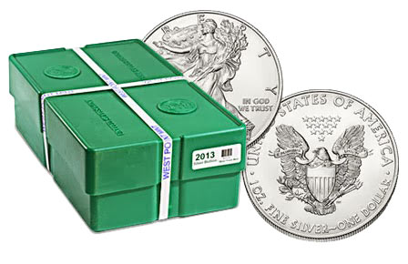 American Eagle Silver Coin Monster Box
