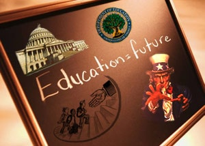 The Federal Reserve seeks to educate students on the supposed constitutionality and wisdom of their system