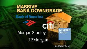 Massive bank downgrade reflects negative data about the U.S. economy