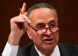 Senator Chuck Schumer directed Chairman Bernanke to produce more monetary stimulus to try to turn the economy around
