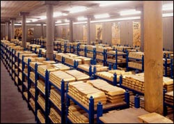 If you have a sizeable stash of precious metals, you might consider using a third-party storage company
