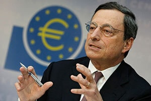 ECB's Mario Draghi is prepared to do whatever it takes to preserve the Euro