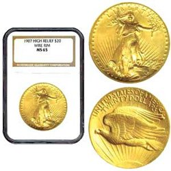 Gold American Eagle bullion coin