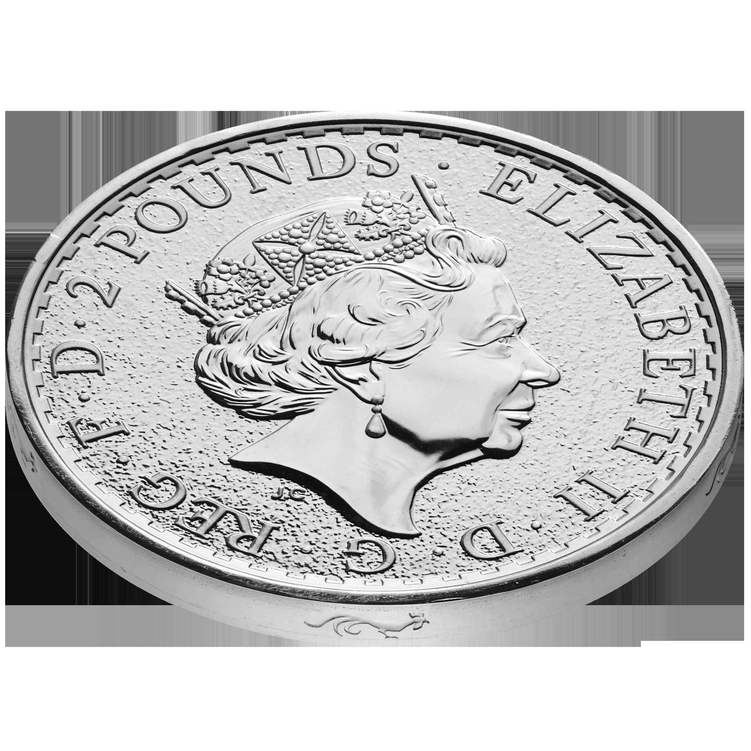 2016 1-oz Silver Britannia with Monkey Privy Mark
