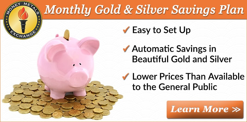 Monthly Gold & Silver Savings Plan