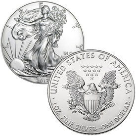 1oz American Silver Eagles