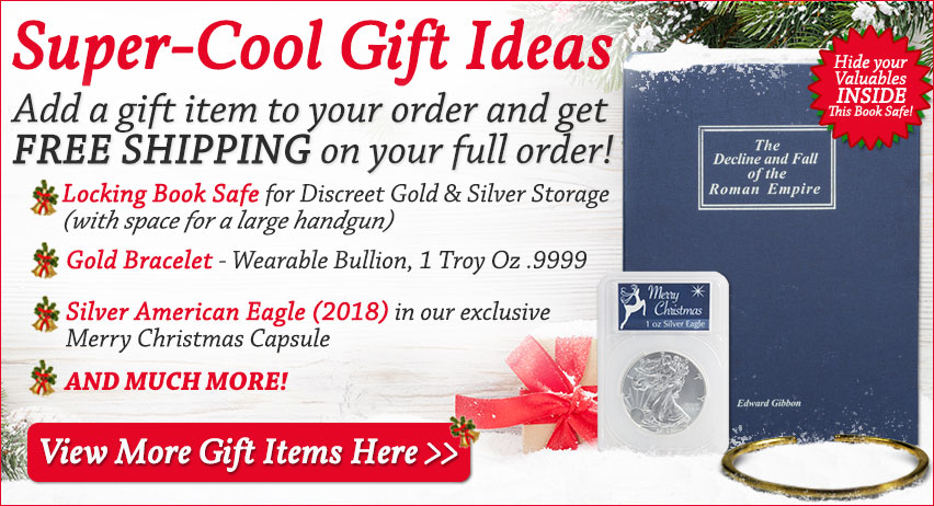 Christmas Gift Ideas for Precious Metals Investors
