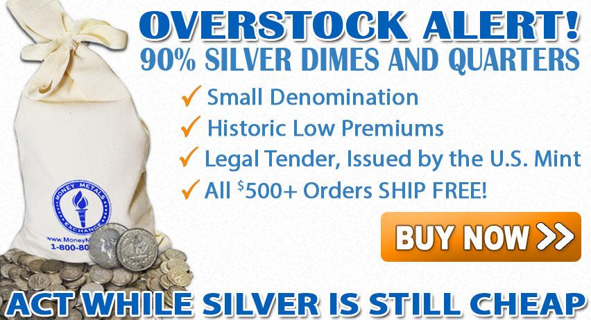 Buy Junk Silver Coins from Money Metals Exchange