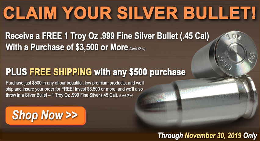 Buy Silver from Money Metals Exchange