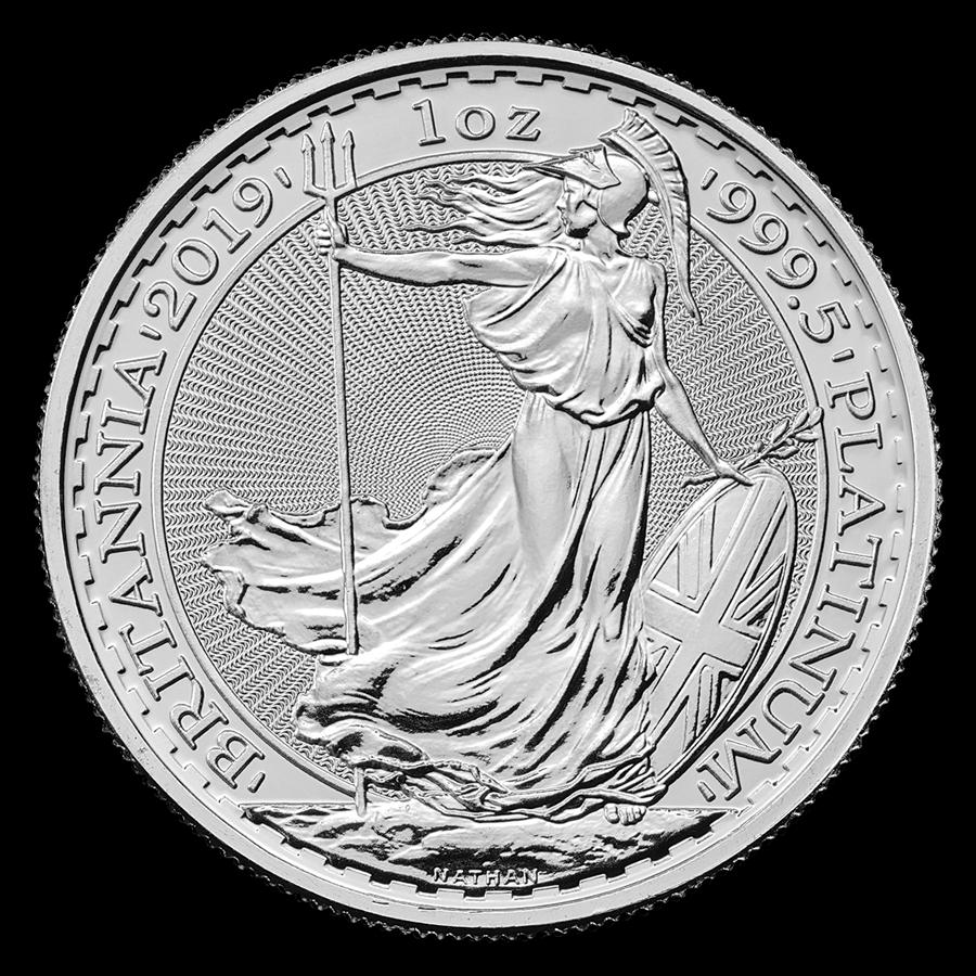 2019 Great Britain 1-oz Platinum Britannia