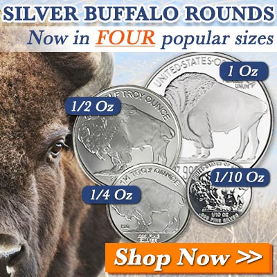 All Sizes Silver Buffalo Rounds