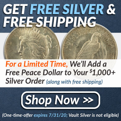 2020 - Free Silver Peace Dollar
