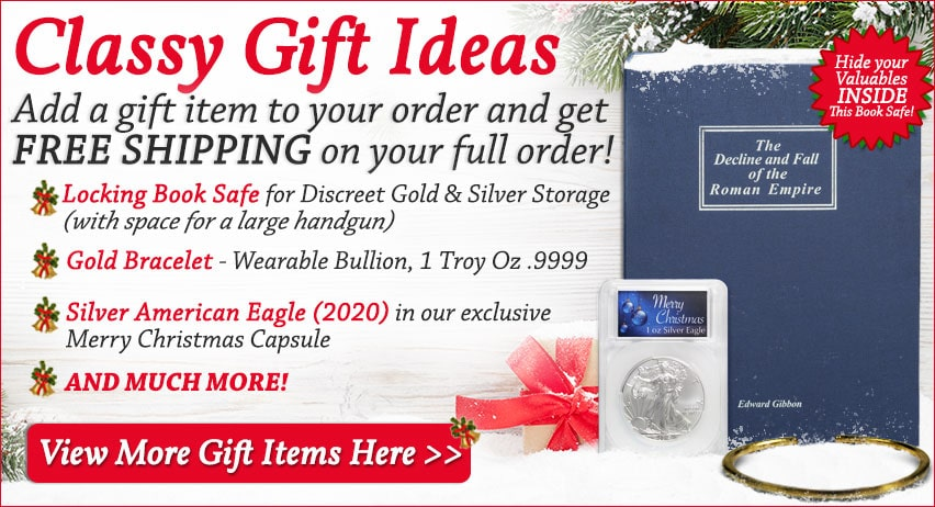 Classy Gift Ideas! Add a gift item to your order and get FREE SHIPPING on your full order!