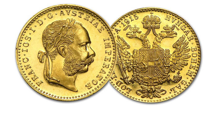 Austrian 1 Ducat Gold Coin (.1107 actual gold weight) - only 3.75% over melt value
