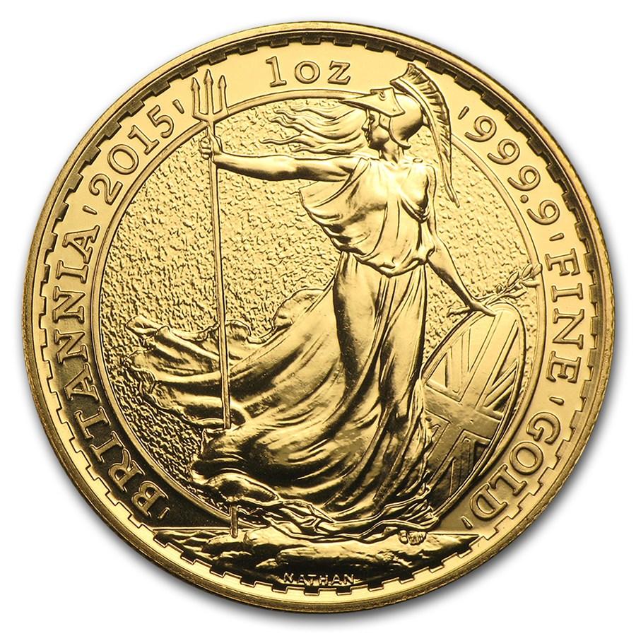 Great Britain 1 oz Gold Britannia Coin (REDUCED)