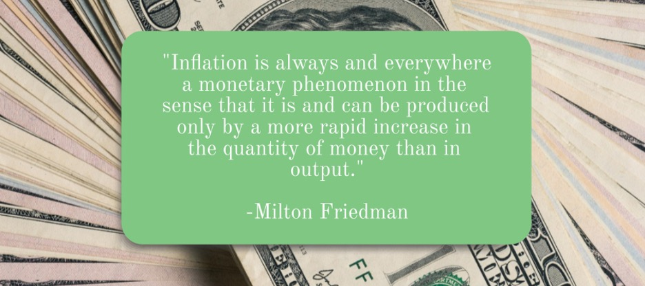 Inflation quote by Milton Friedman