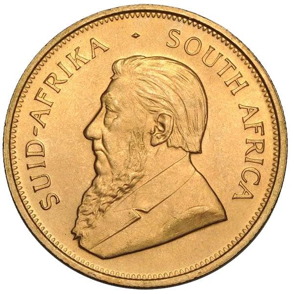 1 Oz South African Gold Krugerrand Coins