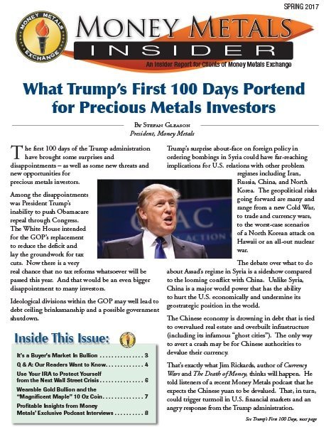 Money Metals Insider - Spring 2017