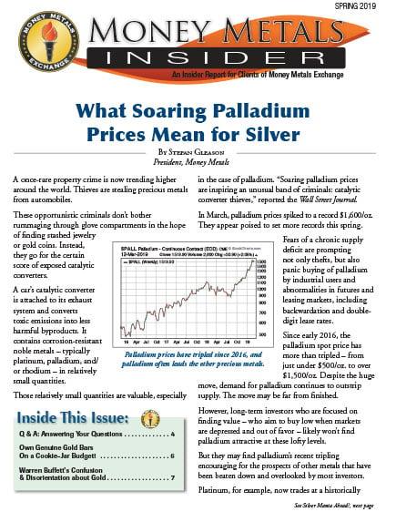 Money Metals Insider - Spring 2019